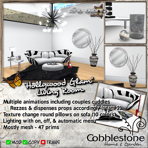 Cobblestone - Hollywood Glam LR TE Ad