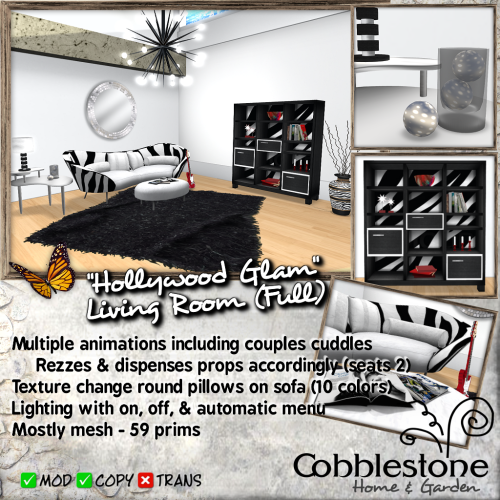 Cobblestone - Hollywood Glam LR Full Ad