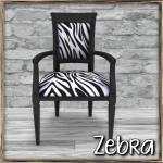 Cobblestone - Cordelia Chair (Zebra) Pic